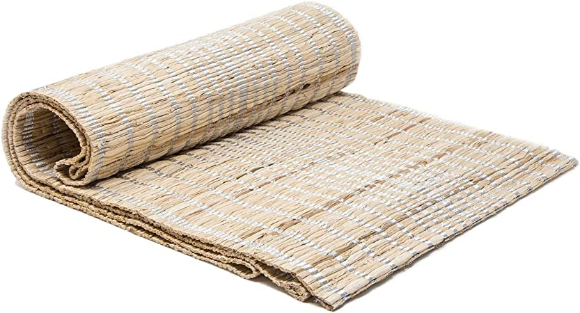 """Better Homes Gardens Table Runner Jute Rope Natural Striped Brown Casual 72/"""""""