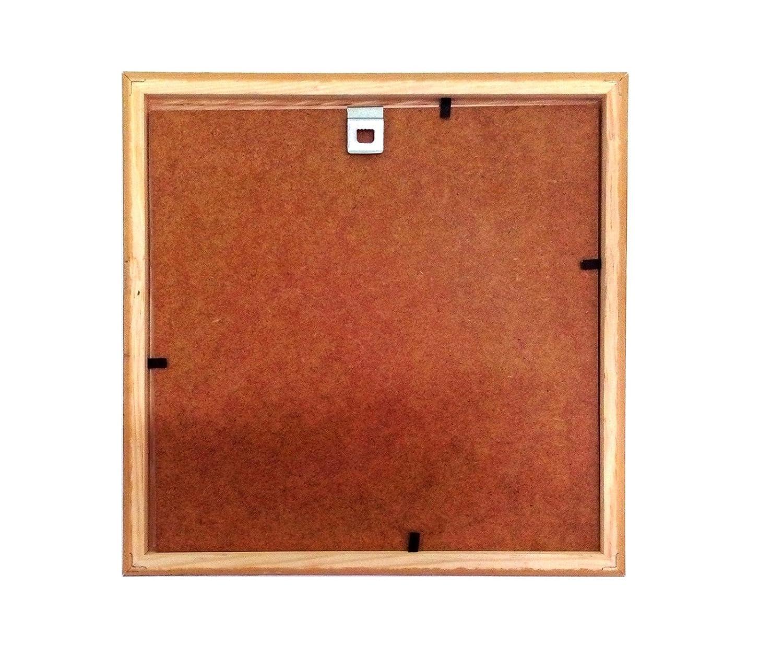 Holz - Rahmen für Bilder quadratisch 15x15 20x20 25x25 30x30 40x40 ...