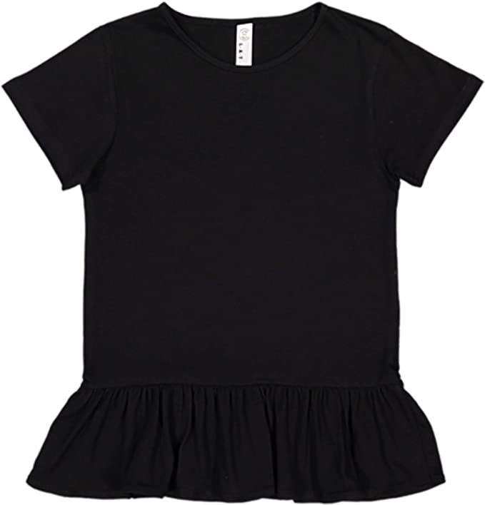 Compare Prices On Playing Cards Ring Toddler Girls T Shirt Kids Cotton Short Sleeve Ruffle Tee