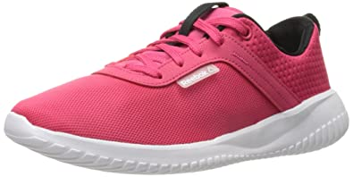 Reebok Women's Skylite Casual Shoe, Blazing PinkBlackWhite,