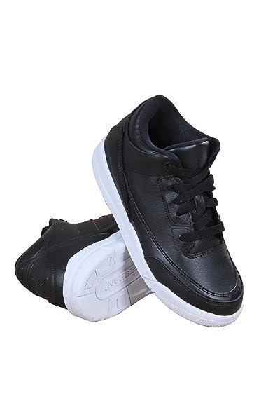 Nike 429487-020 Firs Step Shoes, Baby-Boys, Black (Black/