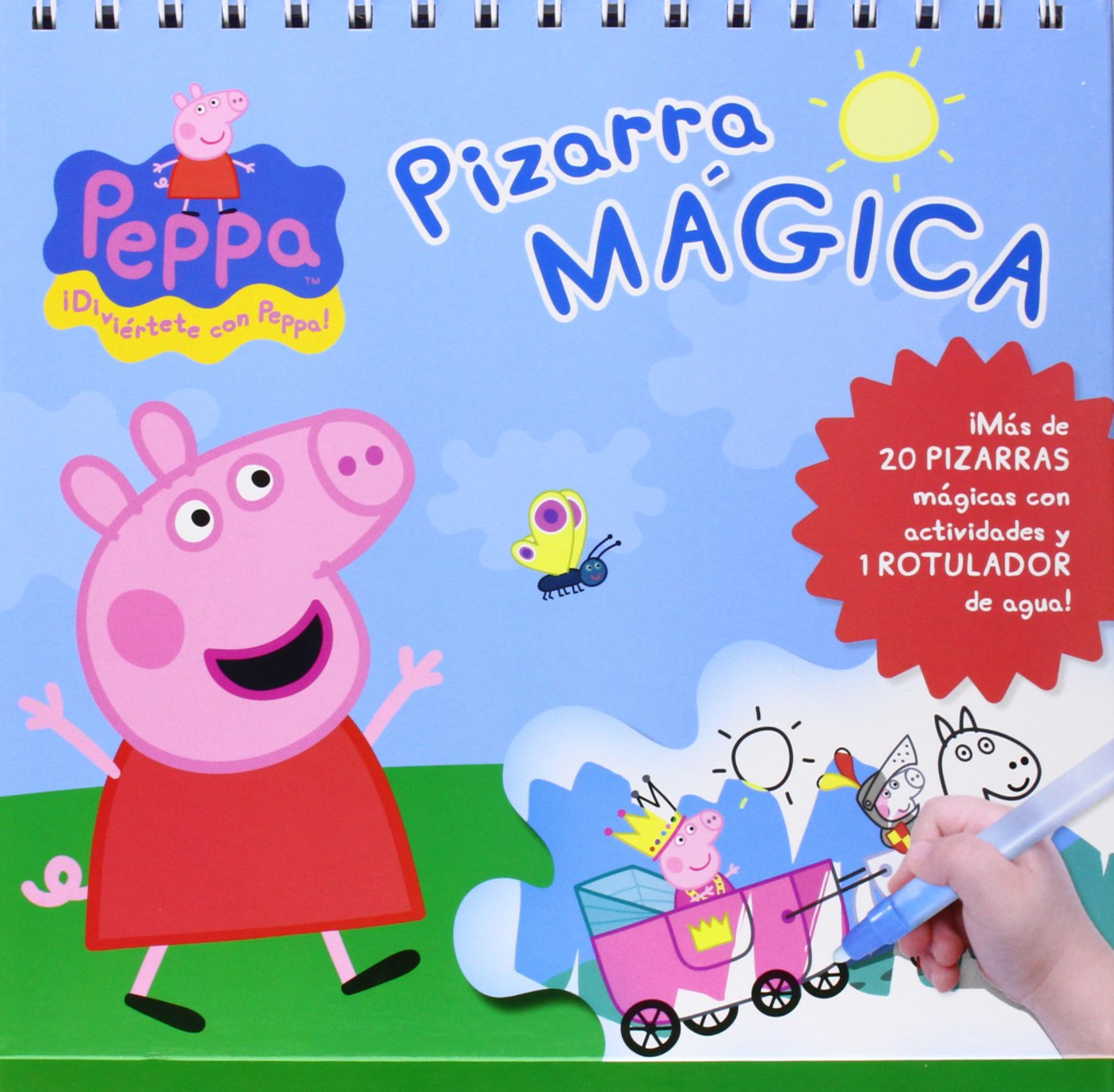 PIZARRA MAGICA PEPPA PIG: 9788415857792: Amazon.com: Books