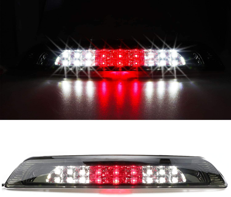 Smoked for 2007-2018 Toyota Tundra LED 3rd Third Brake Light Cargo Lamp High Mount Stop light Chrome Housing
