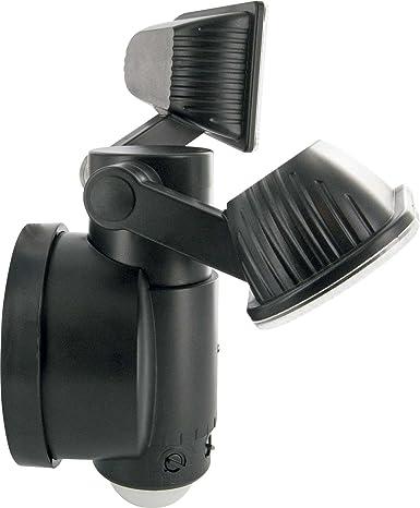 Schwaiger LED220 011 LED/de seguridad de Sensor/movimiento Lámpara con dos lámpara,