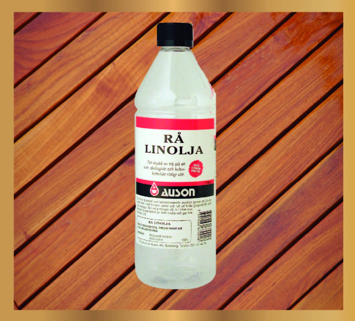 Linseed Oil - ''Raw''- 1 Liter