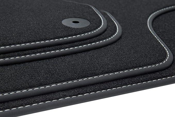 Modificaci/ón del Coche Negro Cola de Goma del Aler/ón sin Perforaciones Universal 3D // ala Superior Elerose 1.5 m // 4.9 pies de Fibra de Carbono Goma suave