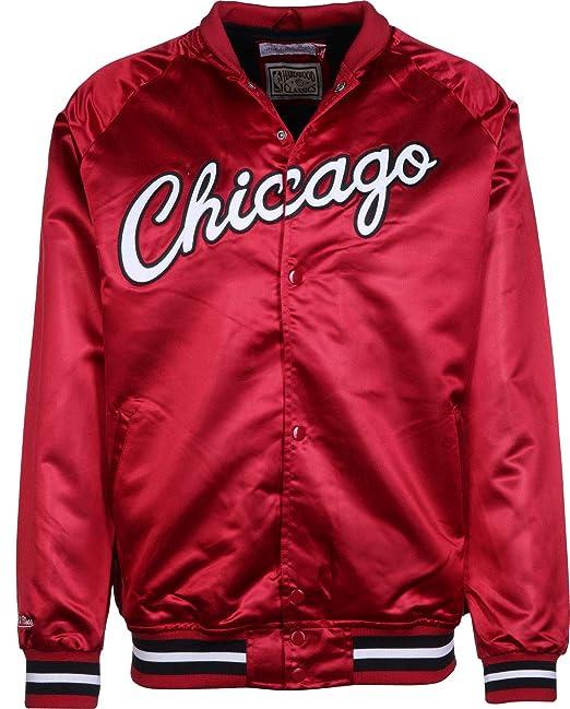 Mitchell & Ness NBA Satin Chicago Bulls Chaqueta ...