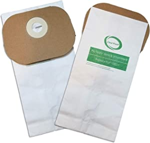 Casa Fresh 10 PK Replacement for ProTeam Sierra, Lil Hummer 103227 Intercept Micro Filtration. Commercial Backpack Vacuum Cleaner Bags
