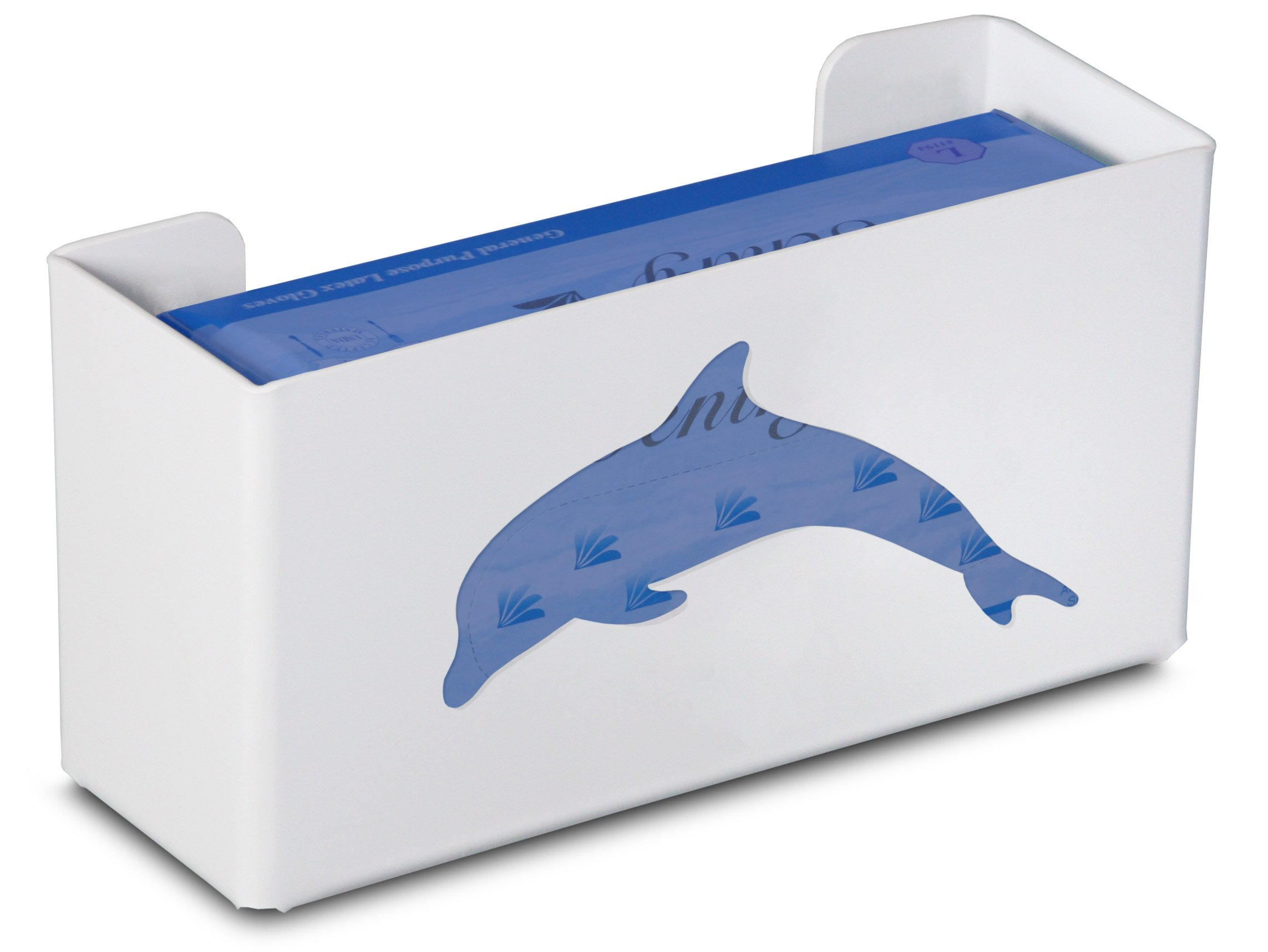 TrippNT 50859 Priced Right Single Glove Box Holder with Dolphin, 11'' Width x 6'' Height x 4'' Depth