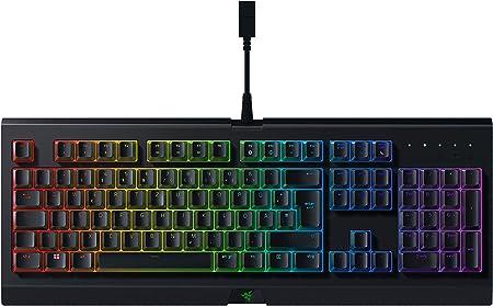 Razer Cynosa Chroma - Teclado Gaming con iluminación Razer Chroma con LED RGB, USB, Alámbrico, 16,8 millones de opciones de color personalizables, ...