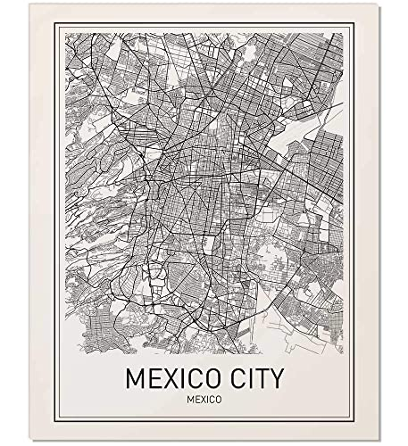 City Map Posters on