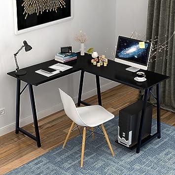 soges Bureau d\'Angle Ordinateur Bureau Informatique Table ...