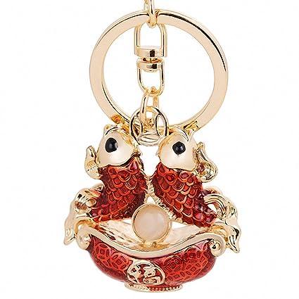 Amazon.com: Womens Chain Llaveros Classic Chinese Style ...