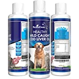 BRAND NEW! HUMAN GRADE COD LIVER FISH OIL FOR DOGS AND CATS BACON FLAVOR Wild Caught Cod Liver Oil For Pets More Nutrition Than Other Dog Fish Oil! High in EPA and DHA Vitamins A&D