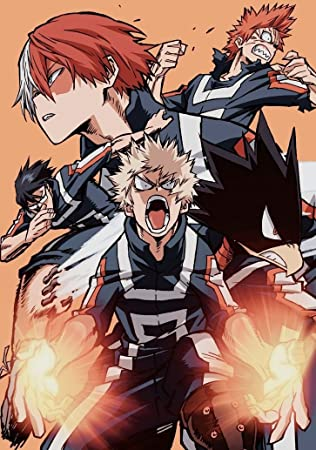Amazon Com Xxw Artwork My Hero Academia Season 3 Poster
