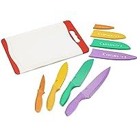 Cuisinart Set de cuchillos con tabla,
