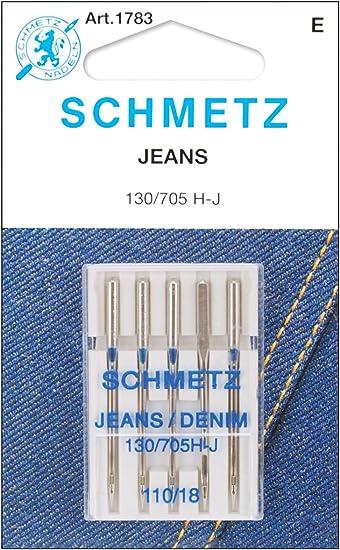 Schmetz/ /Agujas para m/áquina de coser tama/ño 110//18, 5/agujas