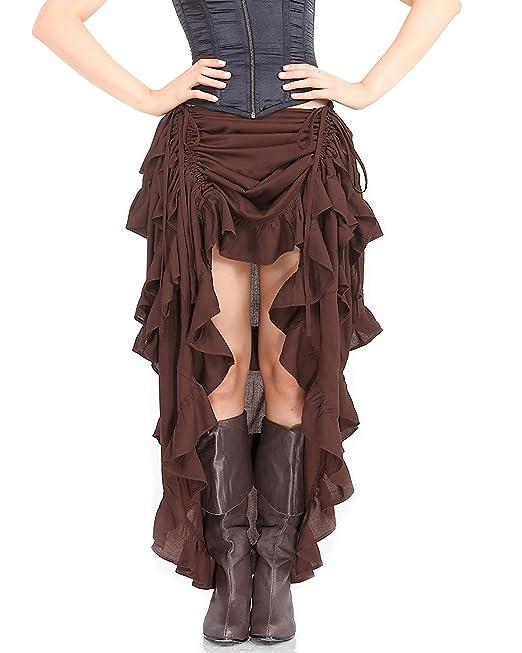 4ca588a020 ThePirateDressing C1367 - falda de estilo Victoriano gótico steampunk