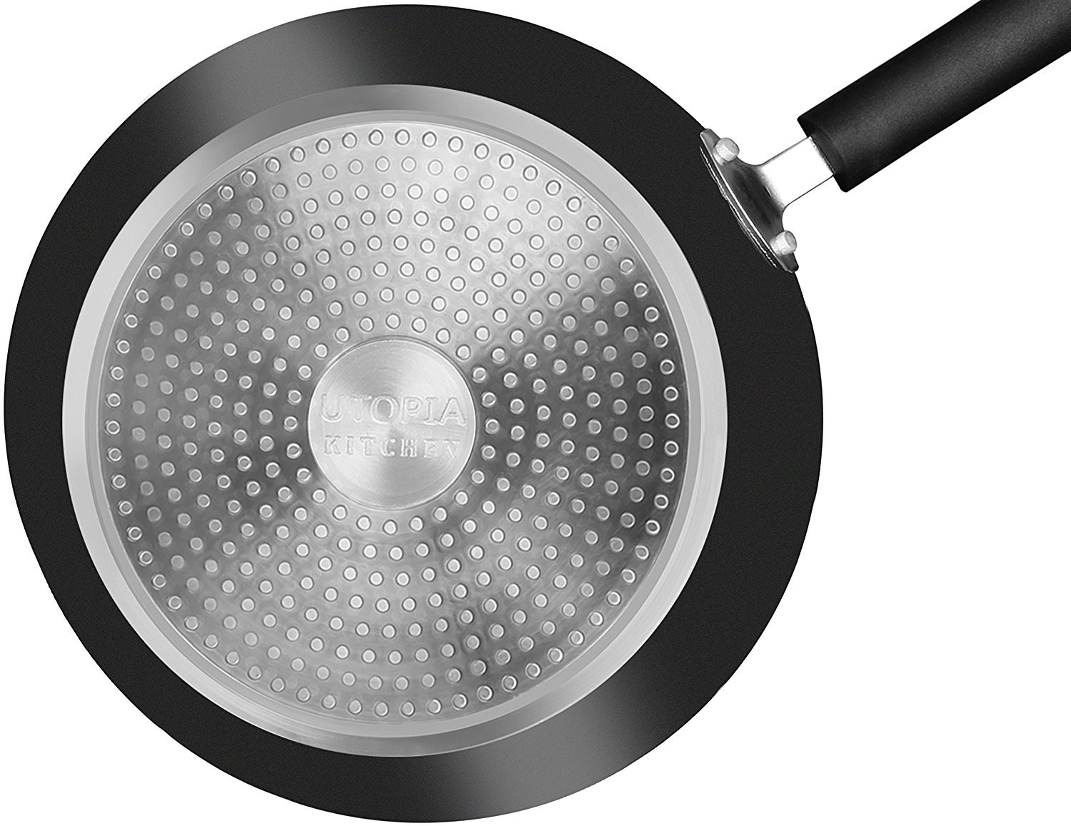 Utopia Kitchen Nonstick Frying Pan Set - 3 Piece Induction Bottom - 8 Inch, 9.5 Inch and 11 Inch by Utopia Kitchen (Image #3)