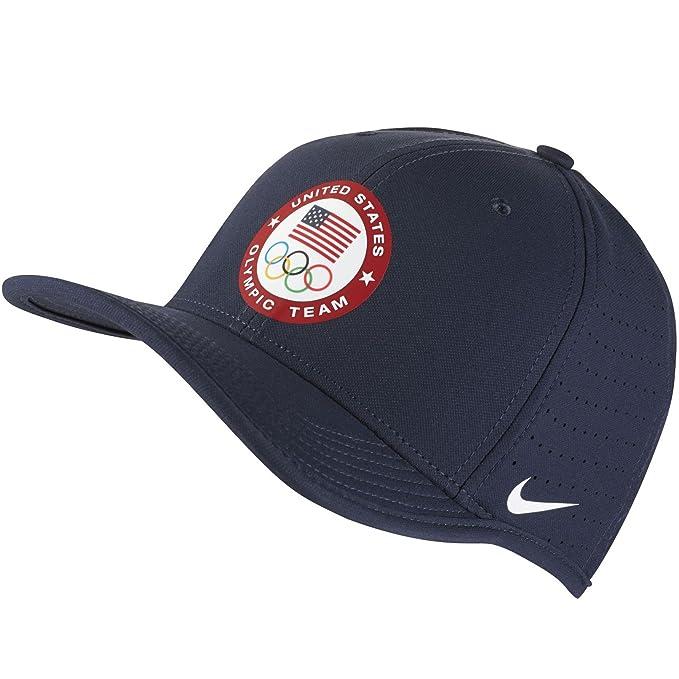 d42966e2d7e Amazon.com  Nike Men`s Team USA Classic Strapback Hat  Sports   Outdoors