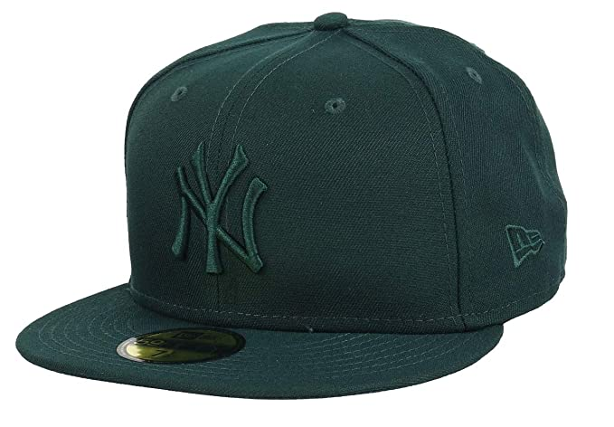 New Era 59Fifty Hat MLB New York Yankees Mens Green White Fitted 5950 Cap
