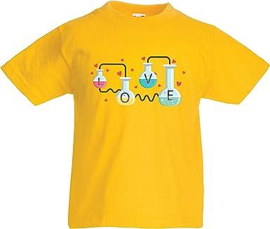 lepni.me Camiseta para Niño/Niña La fórmula del Amor, Ciencia, química - Regalo de San Valentín: Amazon.es: Ropa y accesorios