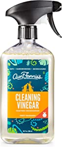 Aunt Fannie's Cleaning Vinegar, Sweet Mandarin, 16.9 Ounce, 16.9 FZ, 16 Fl Oz
