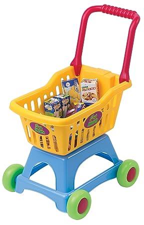 PlayGo 3245 My Shopping Cart - Carro de la compra de plstico plegable con accesorios [importado de Alemania]: Amazon.es: Juguetes y juegos
