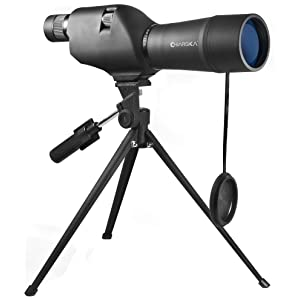 BARSKA CO11502 20-60×60 Waterproof Straight Spotting Scope with Tripod