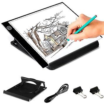 Amazon Com Kebo Led Light Box Tracer A4 Ultra Thin Portable Copy
