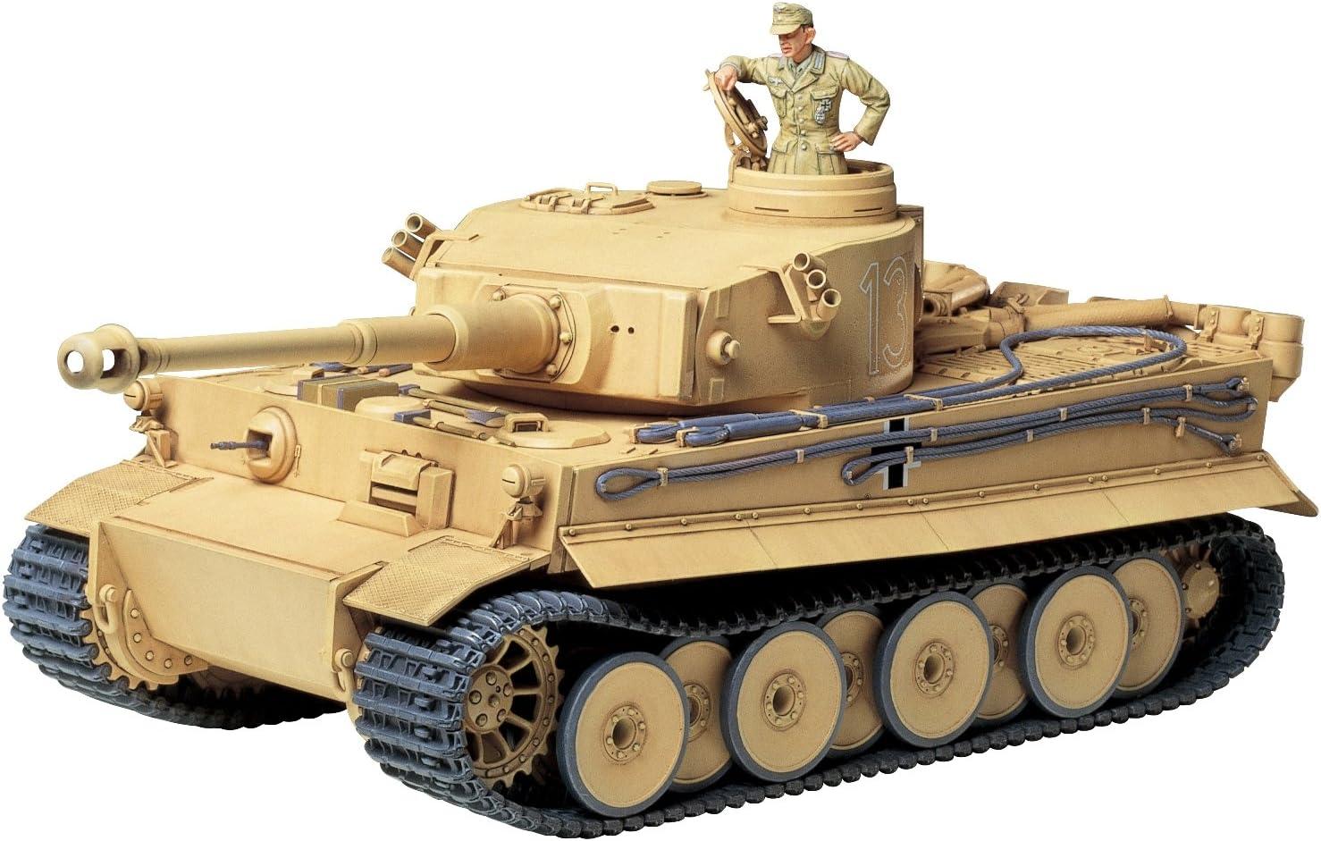 Tamiya 35227 - Maqueta de Tanque alemán Tiger I para Montar (Escala 1:35): Amazon.es: Juguetes y juegos