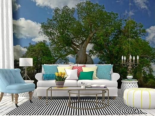 Easy DIY Cherry Blossom Flowering Tree - Paper Glitter Glue | 392x522