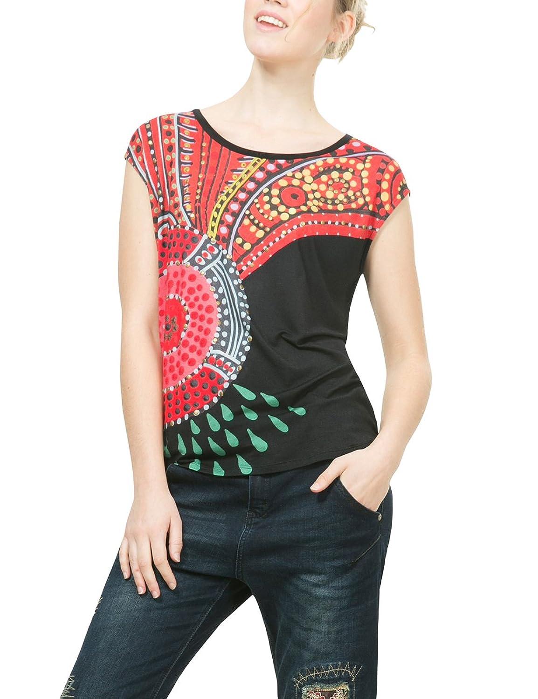 Desigual Damen T-Shirt Ts_Elvira