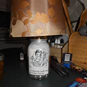 Amazon Com Mason Jar Lamp Kit Converts A Standard Mason