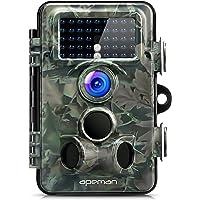 APEMAN Camara de Camera 12MP 1080P Lente Gran Angular de 130°Sensor de PIR de 120°940nm LED Velocidad de Disparo de 0.2 Segundos Visión Nocturna 65pies/20m Resistencia al Agua IP66