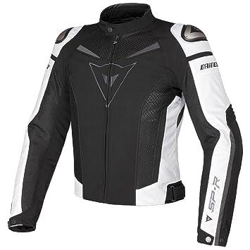 Dainese Super velocidad Tex - chaqueta, mujer hombre, negro/blanco/gris,