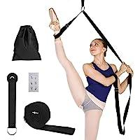MaoXinTek Yoga Band Been Stretcher, Verstelbare Lengthen Ballet Stretch Band, Eenvoudige Installatie op Deur…