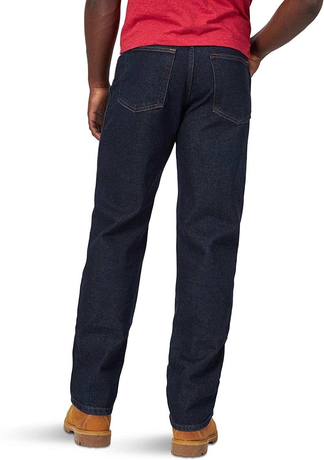 Rustler Classic Mens Relaxed 5 Pocket Jean