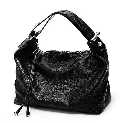 8a85dc892b6720 Zency 6 Colors Fashion 100% Real Genuine Leather Women Shoulder Bag OL  Style Handbag Lady