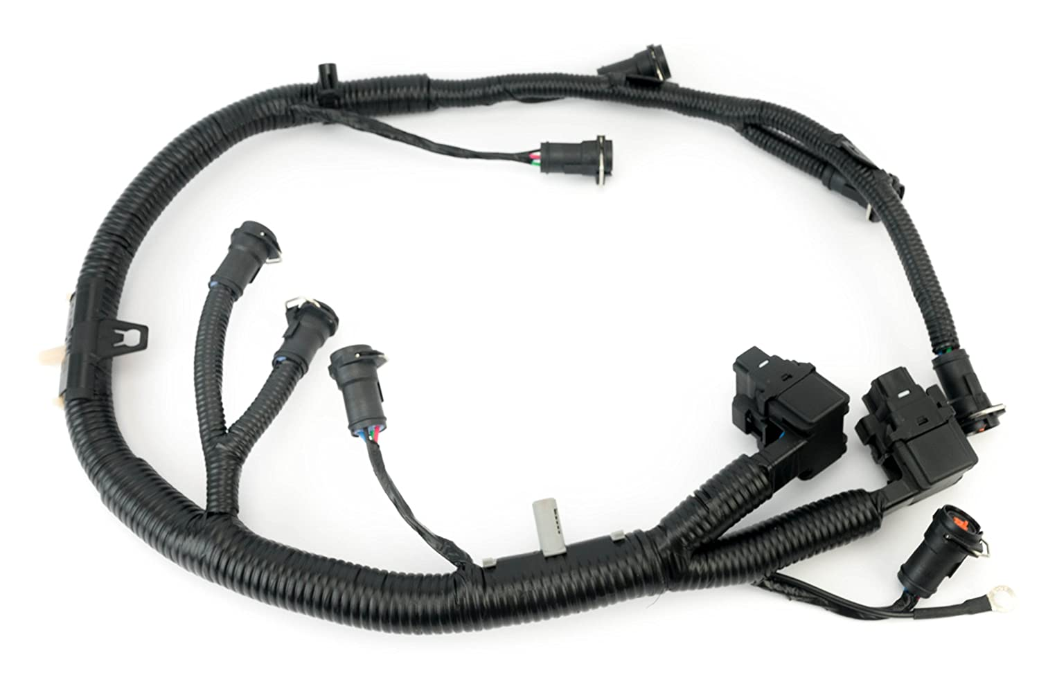 For F350 Injector Wiring Harness Free Download Library Ford Amazoncom Ficm Engine Fuel Complete Wire Replaces Part 5c3z9d930a