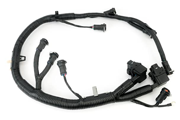 71JKXNu3SfL._SX608_ amazon com ficm engine fuel injector complete wire harness Nissan Pathfinder Ignition Wire at n-0.co
