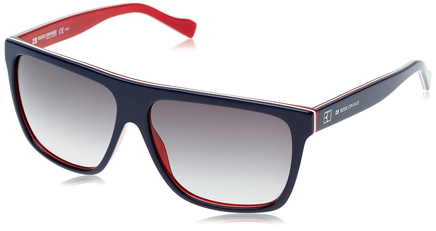 BOSS Orange Gafas de sol 0082/S Jj Blueredwhitrd Yw0, 58