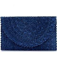 Women Handbag Balinese Woven Straw Clutch