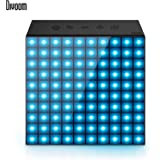 Divoom Aurabox Wireless Bluetooth Speaker with Mic for Mobiles and Computers (Black)