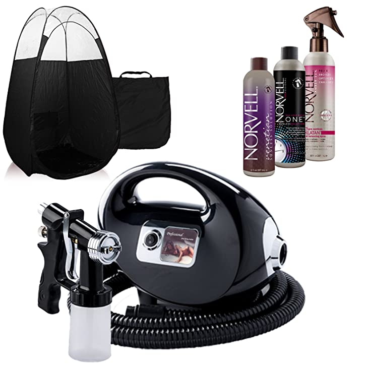 black fascination fx spray tanning machine and kit reviews