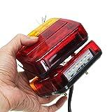 Romerofs 2PCS LED Rear Light Tail Light Brake