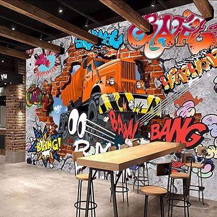 Xianrenge Papier Peint Mural 4d Personnalisée Voitures