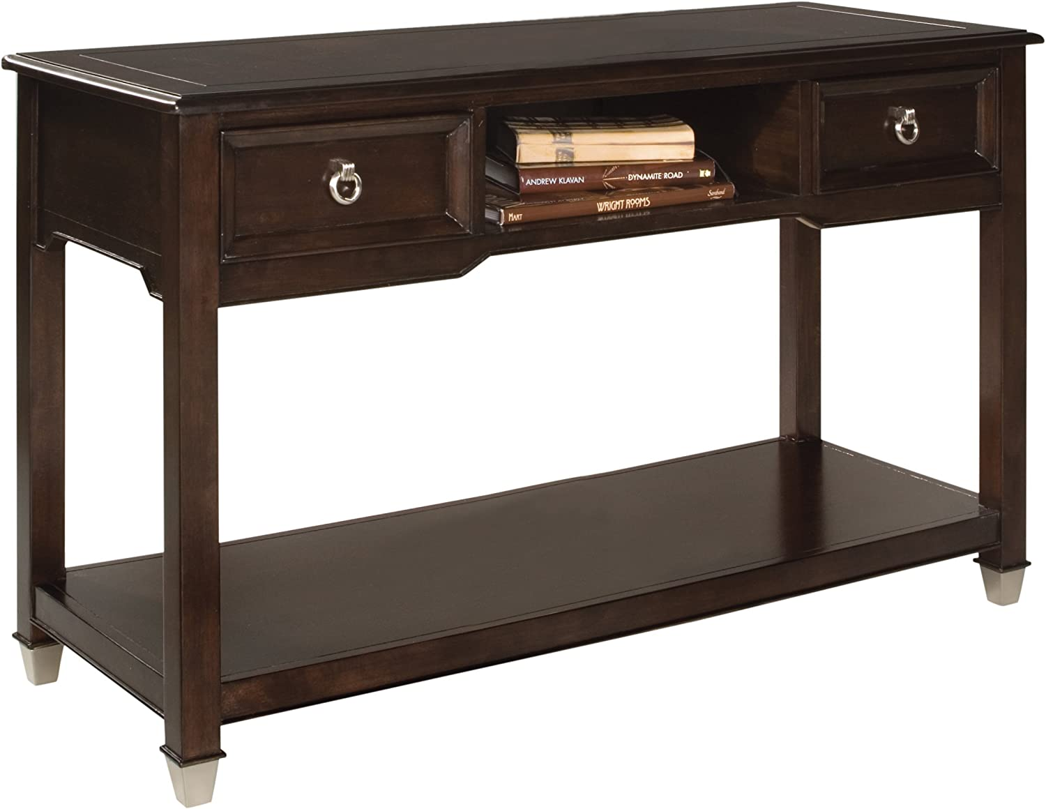 Magnussen Darien Wood Rectangular Sofa Table