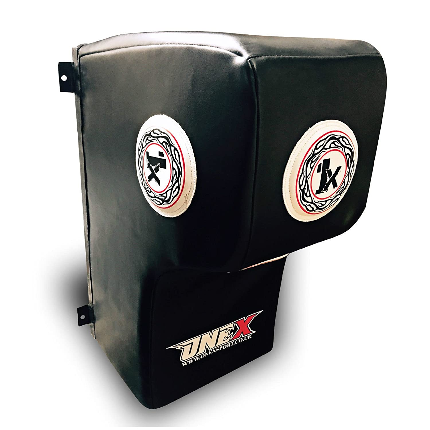 Super Pro Leather Wall Target Uper Cut Mount Strike Sheild Punch Bag Gym Boxing Pads Thai Mitts Kickboxing Free Rope
