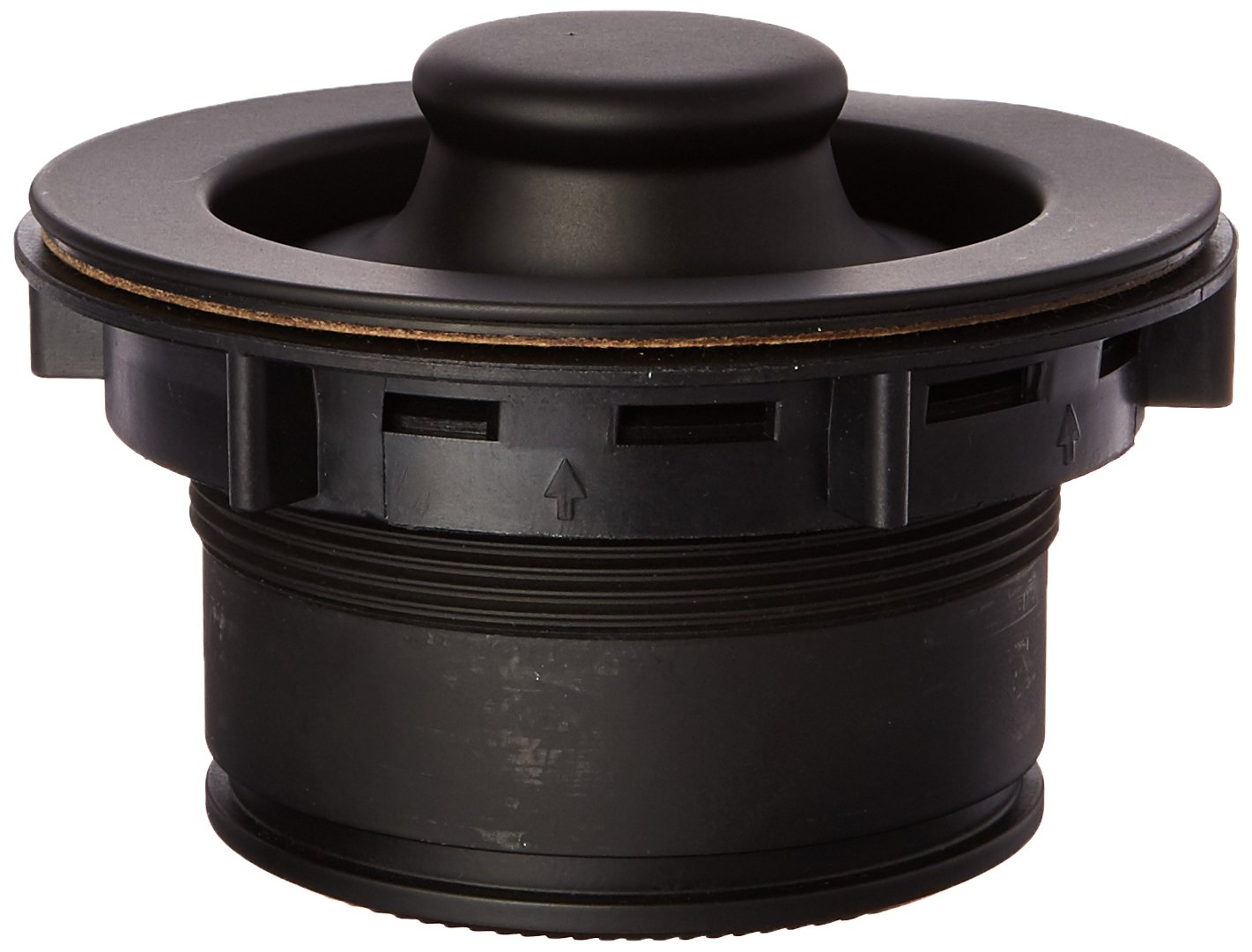 Mr. Scrappy CSFS-BK-93 Custom Color Sink Flange and Stopper Set, Black